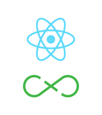 React and Flux logo