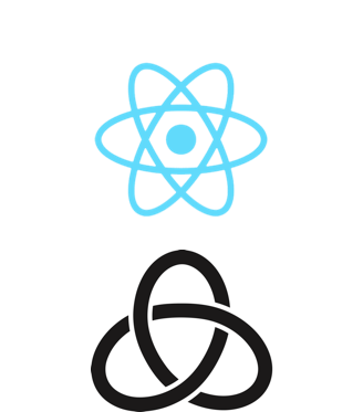 React and Redux logo